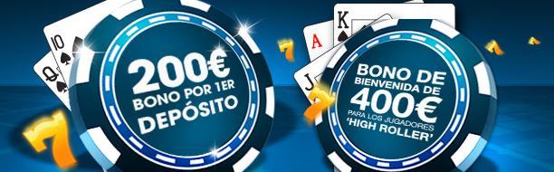 bono william hill live casino
