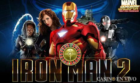 jugar tragaperras iron man 2