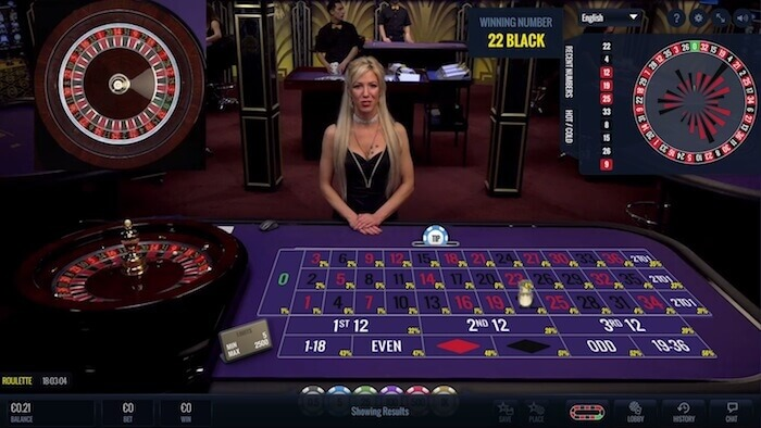 lucky streak live roulette female dealer
