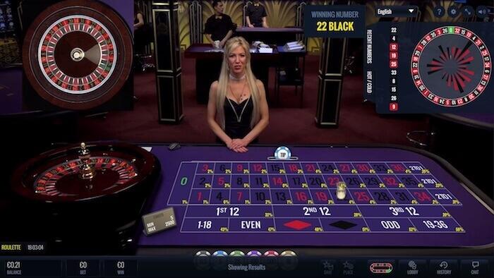 lucky streak live roulette female dealer