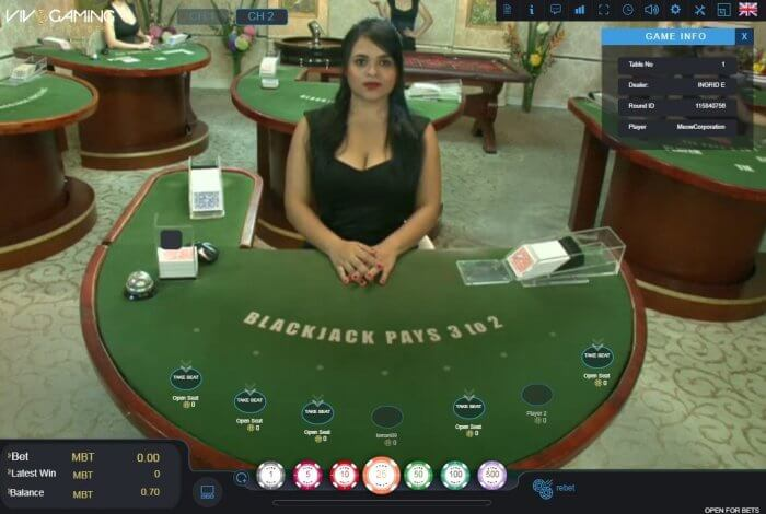 cloudbet vivo blackjack